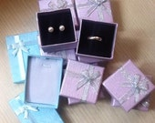 10 Gift Boxes multi purpose for rings, earrings, pendants necklaces - good price jewelry gift box supplier
