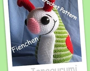 Big Snail Fienchen Crochet Pattern PDF