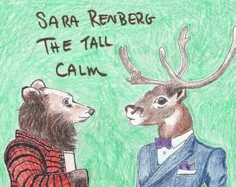 Sara Renberg- The Tall Calm (Cassette Tape + Digital Download)