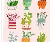 Curious Cacti by Sarah Walsh