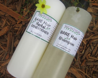 JUMBO, TRULY All Natural Herbal Shampoo & Conditioner, Customer Favorites