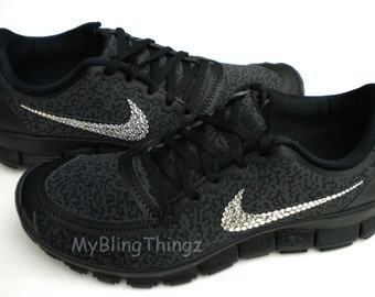all black nike free run 5.0