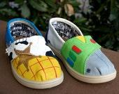 KOOAK Kustoms Disney Toy Story Inspired Toms Flats for Kids