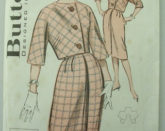 Vintage Butterick 9437 Pattern for a Jacket and Skirt