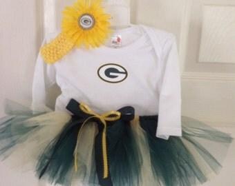 Greenbay Packers Tutu Outfit, Oregon Ducks, Packers, Ducks, packers baby, packers adult, packers teen
