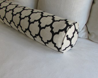 Black Large bolster 8x30 NEW Daybed Size