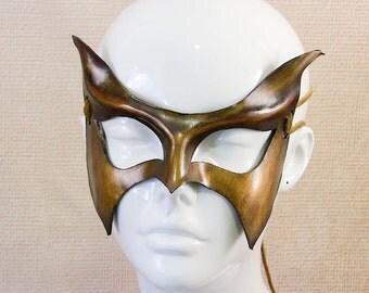 Super Hero / Villain Leather Mask