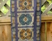 SALE Indonesian handwoven TAPESTRY geometric ethnic weaving home decor from MyGypsyCottage on Etsy