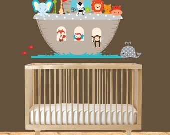 Noah's Ark Theme Vinyl Wall Decal