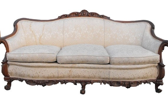 Reserved For Cynthia Antique Victorian Sofa Couch Price