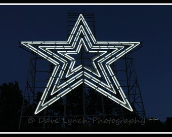 Mill Mountain Star - Roanoke VA - Fine Art Photography by Dave Lynch - Free Shipping on any additional purchase