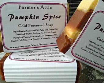 Pumpkin Spice Cold Processed Soap