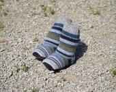 Wool Slipper Boots - 12 to 24 months, non slip