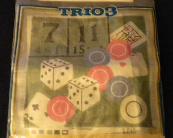 Vintage gambling chips casino concert mohegan sun