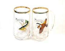 Canadian Wildlife Mugs - Set of 2