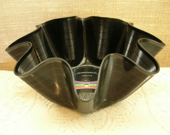 Liberace Record Bowl Made From Recycled Vinyl Album