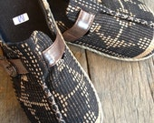 Shoes  for  casual  days  , Tribal  fabric , NAGA  fabric , Embroidered