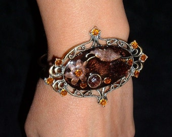 Bracelet cuff DarkAutum