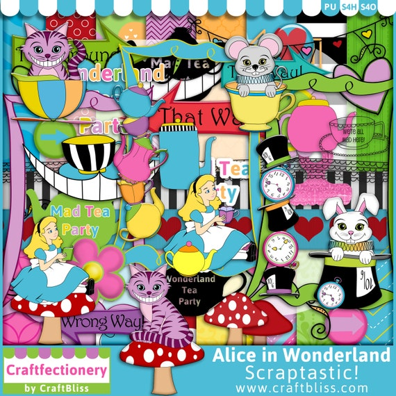 mad hatter tea party clip art - photo #29
