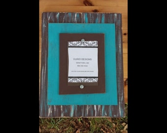 Distressed 4x6 Picture Frame.