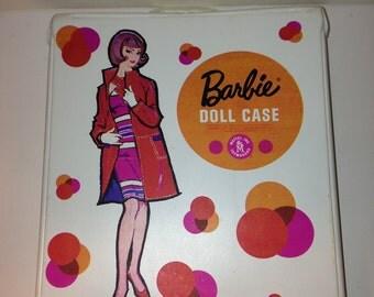 Vintage White Barbie Doll Case