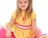 Custom Boutique Clothing  sugar cookie crumb lalaloopsy Inspired  Sassy Girl Dress