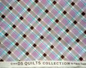 Croquet Bias Plaid lavender DS Quilts Denyse Schmidt fabric  FQ or more