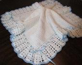 Christening Blanket for Baby Boy