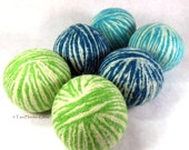 Wool Dryer Balls - The Grass is Greener - Set of 6, An Eco-Friendly Alternative to the Conventional Dryer Sheet & Fabric Softener! Kids Toys
