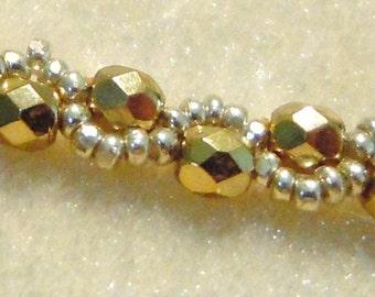 PATTERN Bead Weaving Necklace Serpentina Stitch