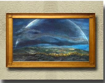Rainbow over Wailua - Fine Art Print on heavy Cotton Canvas - unframed