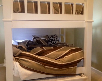 CA King Bunk Bed With Queen Trundle
