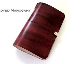 Leather Cover for large Moleskine (Cahiers) and TRAVELERS notebooks
