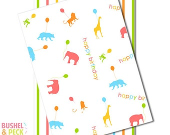 Animal Parade Paper #Goody #Bags