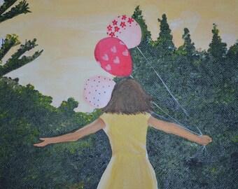 Balloon (color) 8x10