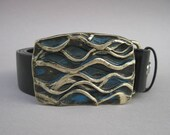 OCEAN Forged Bronze Belt Buckle