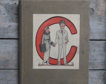 vintage Cincinnati yearbook / antique university of Cincinnati - 1915 book
