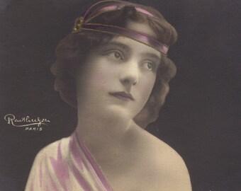 Belle Epoque Actress Mlle. Miéris by Leopold Reutlinger, circa 1900