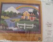Summer Rainbow Needlework Kit - Complete