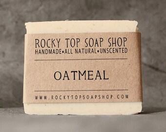 Oatmeal Soap - All Natural Soap, Handmade Soap, Cold Process Soap, Vegan Soap