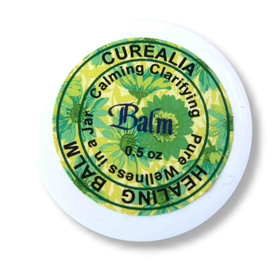 Calming Clarifying Balm - Pure Natural Muscle & Joints Rub - 0.5 oz Curealia