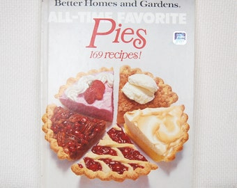 Vintage Cookbook Better Homes and Gardens PIES from the All Time Favorites Series LARGE Format   CB318
