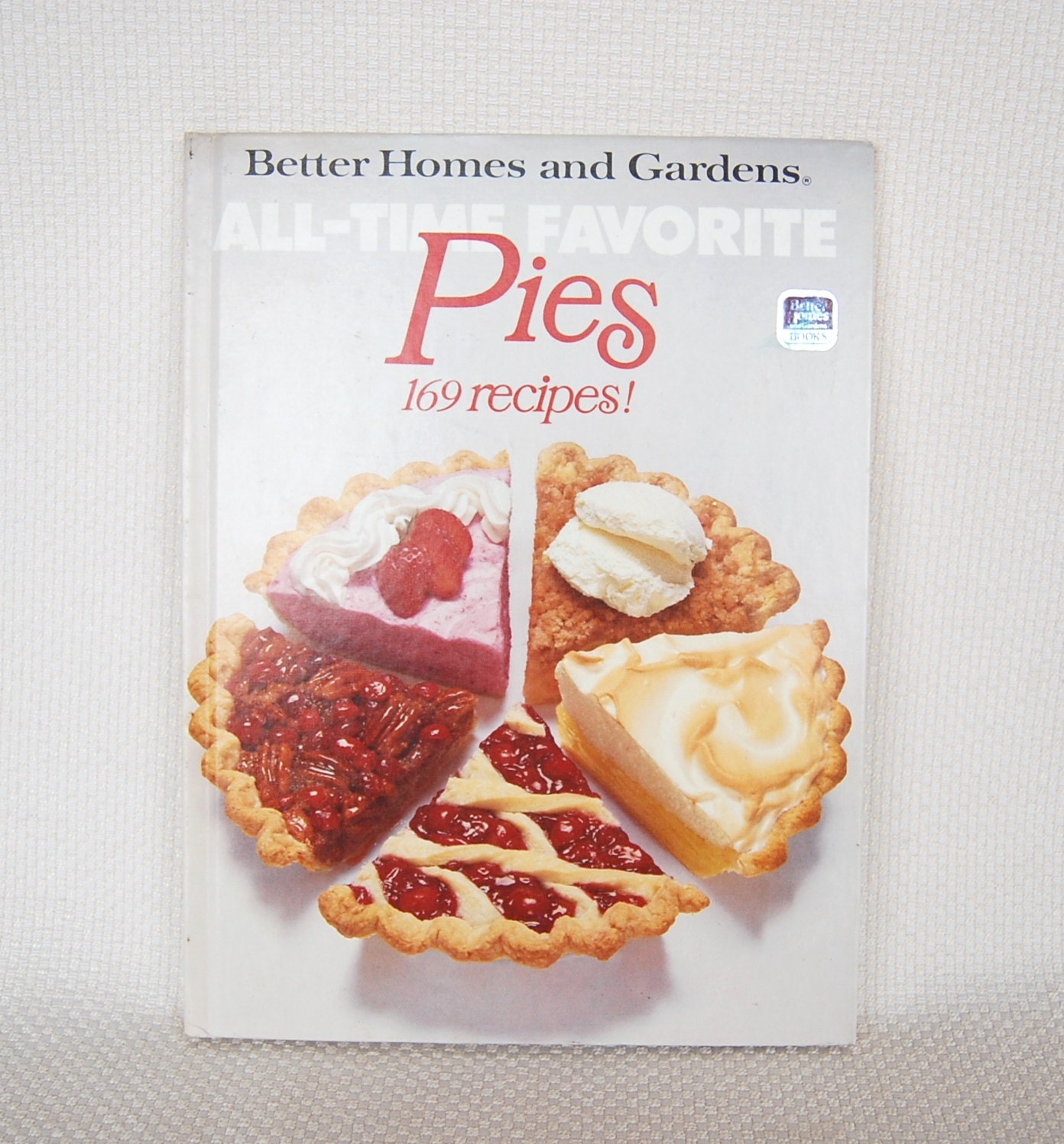Vintage Cookbook Better Homes And Gardens Pies From The All