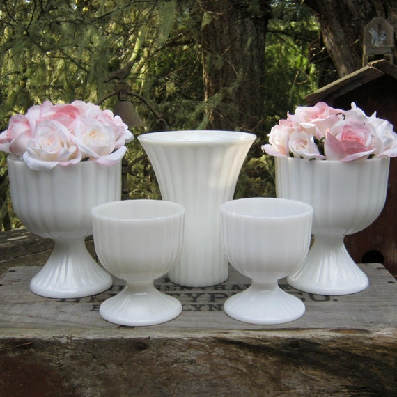 beautiful gl vases for sale with 5 Ribbed White Milk Glass Vases Wedding on Hydrangea Scarf Clip Michael Michaud further 2017 05 moreover Online Shopping In Dubai further Rialto Necklace Cobalt Blue P 1229 moreover Id F 5050493.