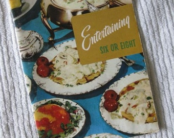 Entertaining Six or Eight Cook Booklet