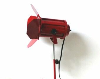 Vintage Mini Stage Light Desk Lamp