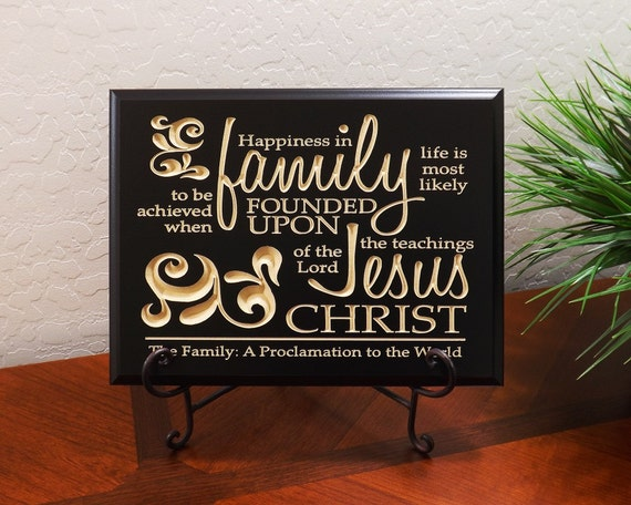 Decorative carved wood sign with quote happiness in for Christian home decor