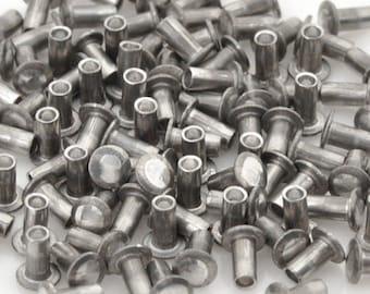 Findings-Hollow Rivet-1/16x1/8 Inch-Aluminum-Quantity 100