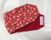 Male Dog Belly Band Doggie Diaper Pet Wrap  Pants Cotton Christmas Fabric Custom Sizes To 30 Inches