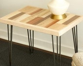 Reclaimed Wood Side Table Coffee Table Wood Table